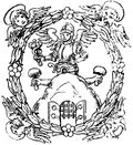 Coat of arms Buchdrucker montanus.jpg