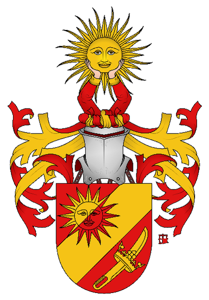 Datei:Coat of arms family de Freudl.png